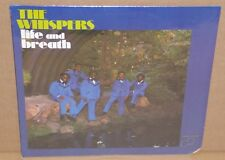 The Whispers Life and Breath sealed LP vinyl record soul funk cut out 1972 Janus
