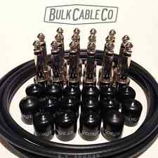 GEORGE L's PEDAL BOARD KIT - 8 PATCH CABLES - 8' OF CABLE - 16 PLUGS - 16 CAPS
