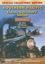 Southern Pacific Classic Collectors Series Combo DVD Pentrex Steam Bay Area SP