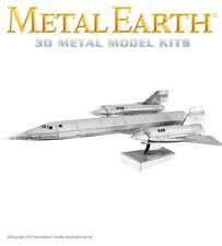 Fascinations Metal Earth SR71 Blackbird Airplane SR-71 Laser Cut 3D Model