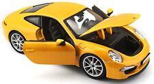 Véhicules miniatures jaunes Porsche 1:24