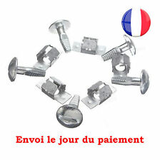 Kit de 5 Vis Clips Fixation Protection Agrafe Pour Peugeot 206 207 406 407 806 5