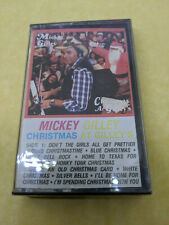 Mickey Gilley Christmas at Gilley's Cassette - SEALED