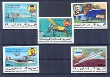 Mauritania 1977 History of Avianon. set Imperforate MNH VF.