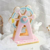 Ferris Wheel 3D Fondant Mold Cutter Cake Cookie Sugarcraft Decor Mo Dt
