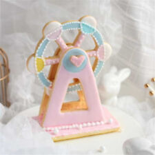 Ferris Wheel 3D Fondant Mold Cutter Cake Cookie Sugarcraft Decor MouldCS