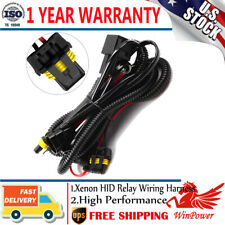 HID Anti Flicke Relay Wiring Harness For Xenon Conversion Kit H1 H7 9005 9006 US