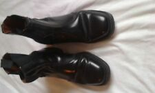 MENS BORMER BLACK ANKLE BOOTS SIZE 7