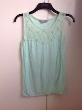 Dorothy Perkins Size 10 Petite Vest Top With Lace