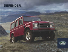 Brochure: Land Rover Defender - 2012 (Includes 90/110/130)