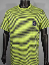 BNWT Mens Jerssey Green Navy stripes  Medium