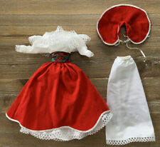 Vintge 1982 Super Star Barbie  Heavenly Holiday Fashion #4277 Red Velvet