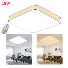 Plafonnier LED Lampe de Plafond moderne Luminaire de salon IP44 Dimmable 12W-96W