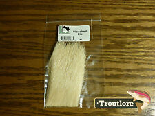 ELK HAIR BLEACHED for BODIES & WINGS - NEW HARELINE FLY TYING MATERIALS