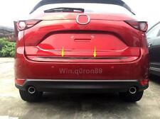 For Mazda CX-5 CX5 2017 2018 Chrome Rear Trunk Tail Gate Molding Cover Trim 1pcs