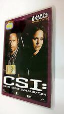 CSI Scena del crimine  Crime Scene Investigation DVD Serie TV Stagione 4 vol. 3