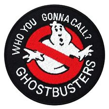 Ghostbusters No Ghost Embroidered Iron On Applique Fancy Patch Cartoon Movie