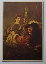 Schöne alte Ansichtskarte AK - Rembrandt N.V. Gestel & Zn Eindhoven met Saskia