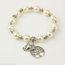 Unbranded Pearl Glass Fashion Bracelets