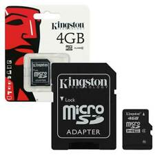 Kingston Micro SD SDHC memory Card Class 4 4GB Memory with SD card Adapter