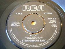 "STEVE GIBBONS BAND - A TO Z  7"" VINYL"