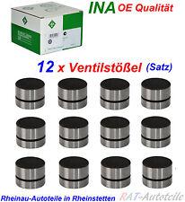 INA 12xVentilstößel Satz AUDI 100 A4 A6 A8 2.6 2.8 auch Quatt 6 Zylinder Motoren
