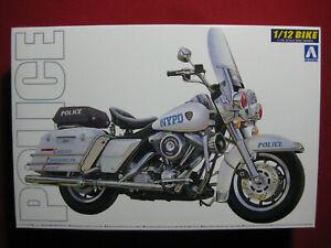 Harley Davidson Electra Glide NYPD Wind Shield Type Police 1/12 Aoshima Kit