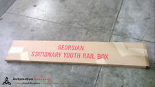 GEORGIAN STATIONARY YOUTH RAIL BOX SHELF UNIT TODDLER BED RAIL, NEW #224658