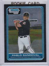 Pablo Sandoval 2006 BOWMAN CHROME 1st ROOKIE CARD Baseball RC San Francisco SOX!