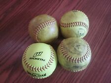 12 inch Optic Yellow Softballs