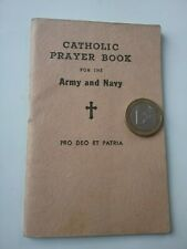WWII US  catholic prayer book