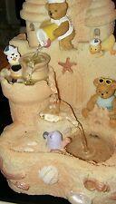 SANDCASTLE Teddy Bear Musical FOUNTAIN plays 3 songs