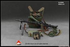 1/6 Alert Line Figure Accessory WWII Germany MG42 Machine Gun Suits Set AL10006