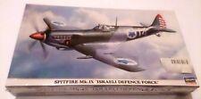Hasegawa Spitfire Mk.ix Israeli Defence Force 1/48 Model Kit P/N: 09506 NIS/BOX