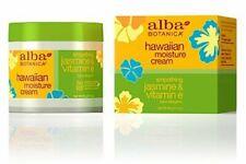 Alba Botanica Hawaiian Moisture Cream Smoothign Jasmine & Vitamin E 3oz ~ K17