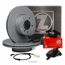 ZIMMERMANN Bremsscheiben + Beläge Wako für AUDI RS3 8V TTRS FV 367/400 PS hinten