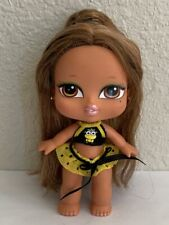 Bratz Babyz Girlz Hair Flair Yasmin Doll Brown Hair & Eyes Original Clothes