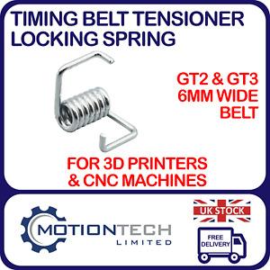 GT2 & GT3 6 mm Timing Belt Tensioner Locking Spring CNC 3D Printer RepRap