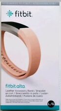 Fitbit Alta Leather Band Replacement Accessory Large Pink Oem New Sealed!