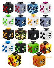 Fidget Cube Toy Anxiety Stress Relief Focus Attention Desk Work Puzzle 6 Side