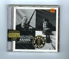 BRAHMS CD (NEW) VIOLIN SONATAS / RENAUD CAPUCON/ NICHOLAS ANGELICH