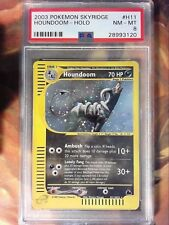 2003 Pokemon Skyridge H11 Houndoom-Holo PSA 8 Near Mint Card