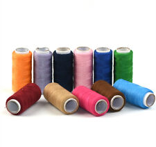 2 Spools 300 Meters Polyester Sewing Threads Assorted Color Hand Sewing Threads