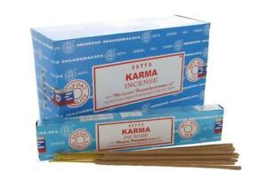 Satya Karma Incense Sticks | Set of 12 Packs of 15 Grams Each