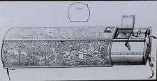 "16th Century French Chef's Box, ""Ecrin de Queux"", Magic Lantern Glass Slide"