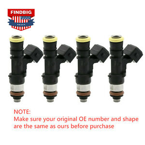 4x 210lb 2200cc Fuel Injector For Bosch Honda Audi Mazda Dodge GM 0280158829