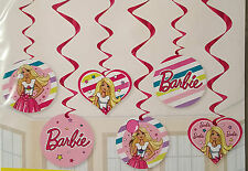 Barbie Themed Girls Birthday Party 10 X Plastic Loot Lolly Favours Treat Bags