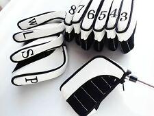 11 x Black Ultimate Golf Iron Head Covers suit, Ping,Titleist, Callaway, Mizuno,