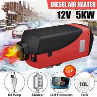 12V 5KW LCD Schalter Fahrzeug Diesel Luft Heizung Benzin Park für Lkw Boot Auto