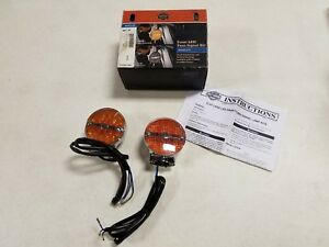 HARLEY TOURING AND SOFTAIL FRONT LED TURN SIGNAL KIT